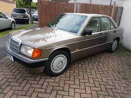 mercedes benz 190e 2 0 auto 1990 classic car excellent condition
