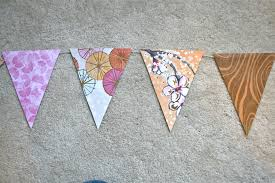Pretty Bunting Flags Pinspiration Monday A Day Late Diy Paper Bunting Flag Dream