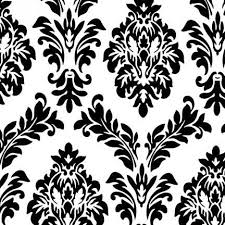 Black And White Table Cloth Velvet White With Black Flocking Tablecloth Rental For Your
