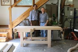 Wooden Bench Vise Screws by Big Wood Vise Workbench Gallery Mehler Schwarz