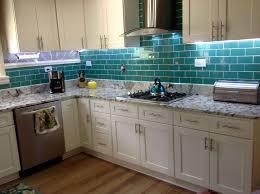 Green Subway Tile Kitchen Backsplash - green subway tile kitchen backsplash home design ideas