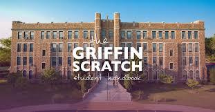 griffin scratch student handbook fontbonne university
