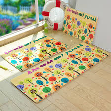Cheap Rug Sets Yellow Kitchen Rug Set Envialette