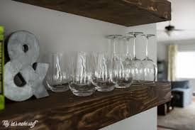 Create Dining Room Storage With Floating Shelves Hey Lets Make - Floating shelves in dining room