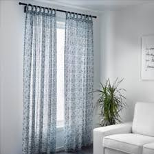 Blue And White Floral Curtains Ikea Floral Polyester Curtains Drapes Valances Ebay