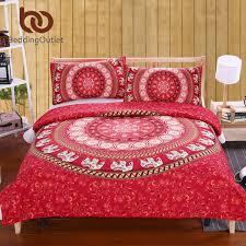 Elephant Print Comforter Set Beddingoutlet Elephant Bed Sheet Set Bohemian Qualified Soft Duvet