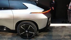faraday future rolls out production car the ff 91 in rock star