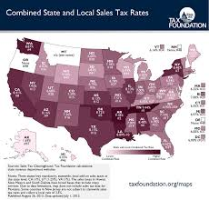 state and local sales tax rates midyear 2013 tax foundation