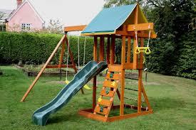 meadowvale climbing frame children u0027s wooden climbing frame
