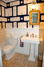 ralph lauren sailing knots wallpaper bathroom cd lake house