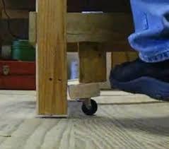 Retractable Workbench Wheels