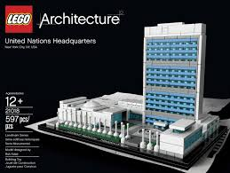 Lego Headquarters Ban Ki Moon Added The Final Lego Brick To The Model Of Un