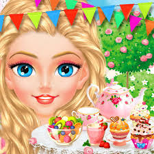 princess tea party royal makeup u0026 dress up salon on the app store