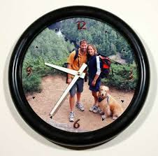 personalized clocks with pictures photo wall clocks