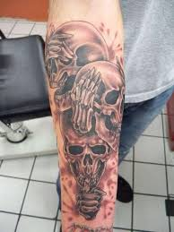 no evil tattoo