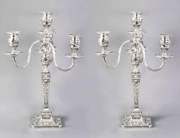 antique pair victorian adam style candelabra c 1880
