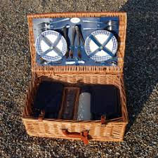 picnic basket set for 4 lovely original complete 4 person harrods picnic basket set by