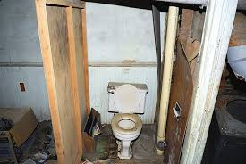 Installing A Basement Toilet by How To Plumb A Basement Bathroom