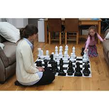 buy chess set giant games standard chess set ce802 outdoor games best buy canada