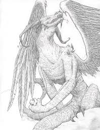dragon drawing by lizzy john on deviantart