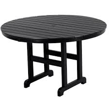 48 In Round Dining Table Polywood 48 Inch Round Dining Table Rt248