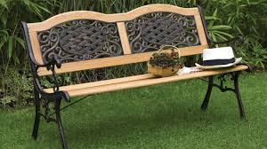 Retro Metal Patio Furniture - bench recover outdoor glider cushions beautiful outdoor bench