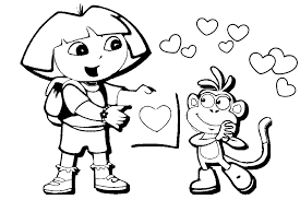 overview kind valentines coloring pages