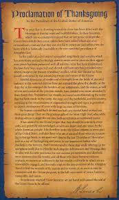 president abraham lincoln s 1863 thanksgiving proclamation abraham