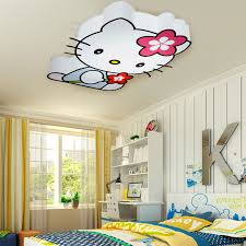Kid Light Fixtures Childrens Bedroom Light Fixtures Modern Led Hello Cat