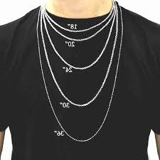 mens necklace lengths images Necklace lengths mens jpg