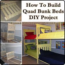 Diy Bunk Bed Diy Bunk Bed Project Diy Cozy Home