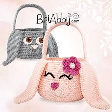 easter bunny baskets ravelry easter bunny baskets pattern by joni memmott briabby