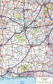 Map Of States Of Usa by Road Map Of Alabamafree Maps Of Us