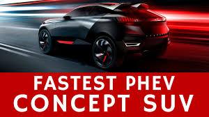 best peugeot cars futuristic 500hp peugeot quartz concept u2013 best phev crossovers