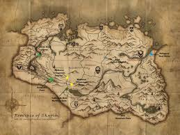Suikoden World Map by Man Those Borders Sse At Skyrim Special Edition Nexus Mods And