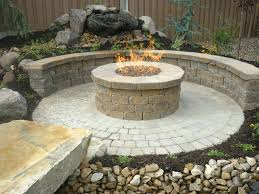 patio ideas cost to build patio and firepit stone patio fire pit