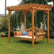 Backyard Swing Ideas 17 Best Porch Swings Images On Pinterest Porch Swings Arbors Back