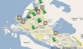 map of abu dabi help the abu dhabi eco map out a green abu dhabi green