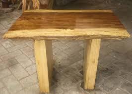 Wood Slab End Table by Wood Slab Coffee Table Indogemstone