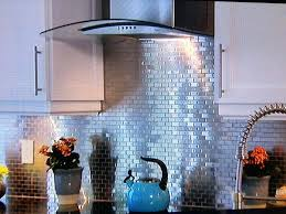 backsplash metal tiles kitchen ideas for kitchen using metal tile