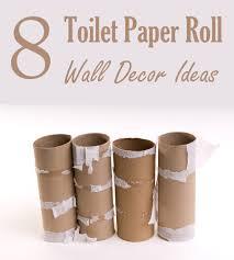 8 homemade toilet paper roll art ideas