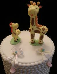 giraffe cake toppers giraffe baby shower favor baby shower cake