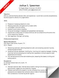 Resume Examples For Office Jobs by Inspiring Design Ideas Medical Receptionist Resume 1 Medical Cv