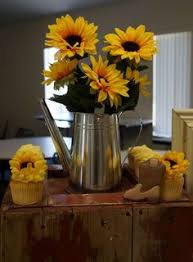Sunflower Centerpiece Sunflower Centerpiece By Gabs Carly U0027s Shower Pinterest