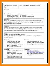 9 lesson plan format acknowledge form