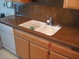 Kitchen Countertop Tile Transferring A Tile Countertop To A Smooth Finish Concrete By Cas