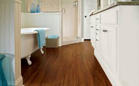 Wood Floors In Bathroom by Bathroom Flooring Ideas Custom Carpet Centers Buffalo Ny