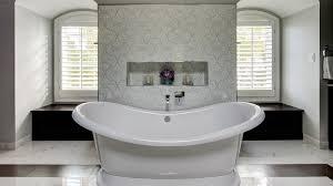 elegant master bath suite drury design