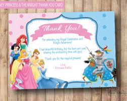 printable thank you cards princess my little pony invitation printable birthday party invite