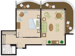 contemporary resort floor plan regal suites at the coral towers paradise island resort atlantis